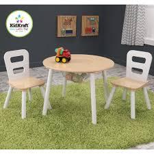 table ronde et chaises kidkraft table ronde 2 chaises achat vente table et chaise
