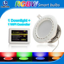 wifi led recessed lights promotion led logic wifi remote control recessed light fixture