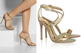 wedding shoes gold gold ombre wedding shoes