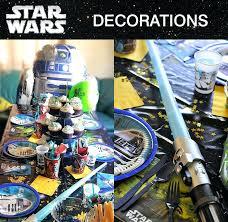 amusing star wars decoration party ideas halloween decorations