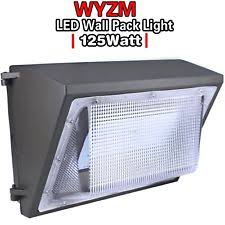 atlas led wall pack lights atlas lighting wlcfc27led 27w wallpack w led l ebay