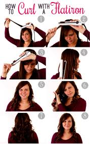 how to curl your hair fast with a wand curl your hair with a straightener fast easy and simple tutorial 2 jpg