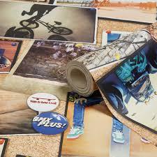 skater children u0027s wallpaper departments diy at b u0026q