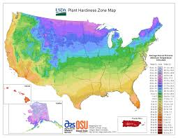Southeastern United States Map by View Maps Usda Plant Hardiness Zone Map