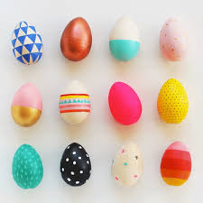 how to paint wooden easter eggs my poppet makes