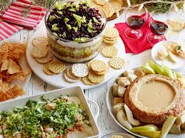 holiday party dips food network food network