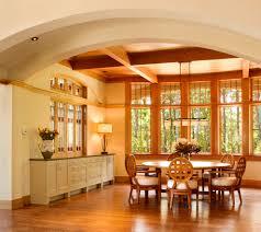 craft craftsman style dining room