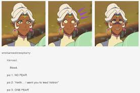 Fear Meme - vld crack no fear one fear meme allura s reaction to keith s