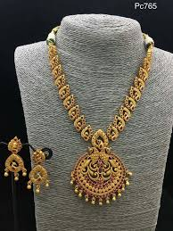 pattern gold necklace images Pin by mohana on aaram pinterest jewel gold jewellery and gold jpg
