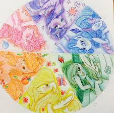completed color wheel project by otiscat123 on deviantart
