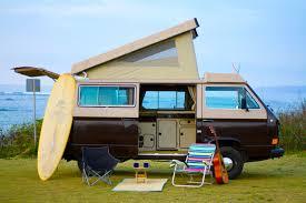 volkswagen camper trailer hawaii surf campers u2013 camper van rentals oahu