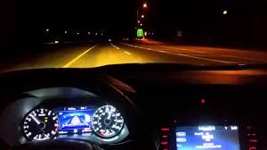2016 nissan altima quarter mile 2016 nissan maxima speed test 0 60 and 80 130 night run youtube