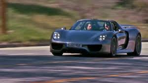 porsche 918 crash jay leno drives the 2015 porsche 918 spyder autoweek