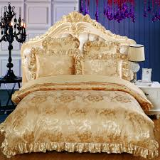 Cheap King Size Bedding Online Get Cheap Gold Queen Bedding Aliexpress Com Alibaba Group