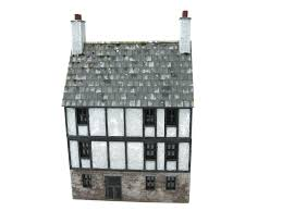 28mm 1 56 3 storey part stone part timbered building napoleonic