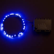 micro led 30 bright blue color indoor and outdoor string