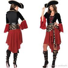 Female Pirate Halloween Costume Female Pirate Dress Pirates Caribbean Captain Cosplay