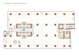 floor plan grade a office in junction city yangon myanmar