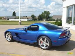 Dodge Viper 2006 - viper gts blue 2006 dodge viper srt 10 coupe exterior photo