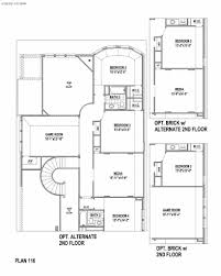 plan 116 in castle hills southpointe american legend homes