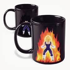 Dragon Coffee Cup Powerup Heat Changing Vegeta Coffee Mug U2013 Ragebear