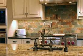 Ideas For Country Kitchens Cool Images Of Dark Backsplash Tiles Idea For Country Kitchen With