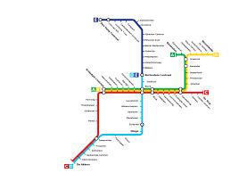 rotterdam netherlands metro map plan du métro de rotterdam pays bas metro map
