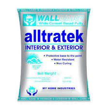 wall putty white alltratek wall putty rs 1440 kilogram my home industries
