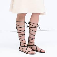 knee high gladiator sandals popsugar fashion