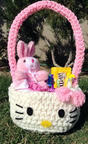 hello easter basket hello crochet easter basket available on https www
