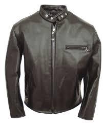 classic motorcycle jacket schott 641hh classic racer motorcycle jacket black byschott bros
