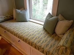 Custom Window Seat Cushions Copious Handmade Double Window Seat Cushions With Comfy Covers