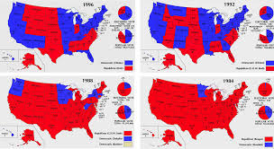 1984 Presidential Election Map by The 7 Biggest Deadbeat States Who Mooch Off Taxpayers All Vote