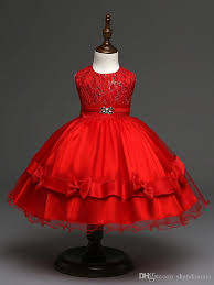 high end vintage lush dresses for girls 2016 new designer princess