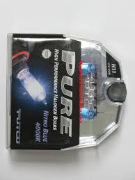 Putco Lights Putco Pure Nitro Blue H11 2 Bulbs Part 230011nb