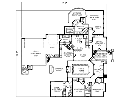 Interesting House Plans by Mediterranean Style House Plan 5 Beds 4 00 Baths 2422 Sq Ft Plan
