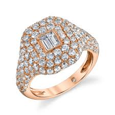 jewelry rings images Pave diamond pinky ring shay fine jewelry