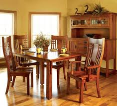 Arts And Crafts Dining Room Set Arts U0026 Crafts U2013 Rockridge Furniture U0026 Design