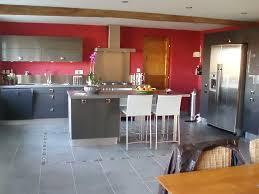 quelle couleur dans une cuisine quelle deco pour cuisine inspirations avec carrelage gris clair
