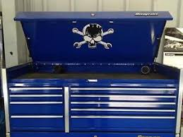 Tool Box Top Hutch Skull And Cross Wrenches Decal For Top Box Lid Snap On Tool Box