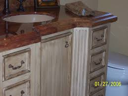 Painted Bathroom Vanity Ideas by Painting Bathroom Cabinets With Chalk Paint