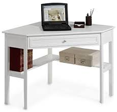 30 Inch Computer Desk Oxford 50 Inch White One Drawer Corner Writing Desk