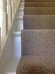 Sisal Stair Runner by Replacing Broadloom Carpet With A Stair Runner Maison Jen