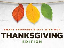don t miss our thanksgiving day edition stuffed with savings