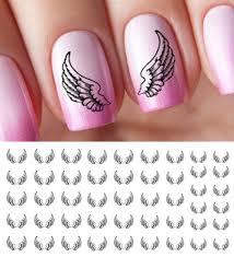 angel wings nail decals u2013 moon sugar decals