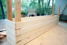 how to build a planter box u201d u2014 backyard ideas pinterest
