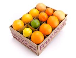 fruit gift box deluxe winter in season citrus organic fruit delivery
