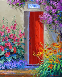 Red Door Paint by April 2012 Mikki Senkarik