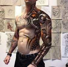 tattoo 3d design chest 155 best 3d tattoos designs for men women 2018 tattoosboygirl