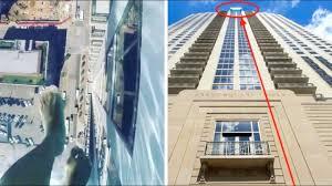 40 Feet In Meters by Glass Bottomed Swimming Pool On 42nd Floor In The Busy Street 500